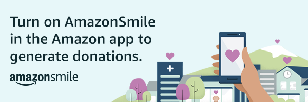 Turn on AmazonSmile in the Amazon app to generate donations.